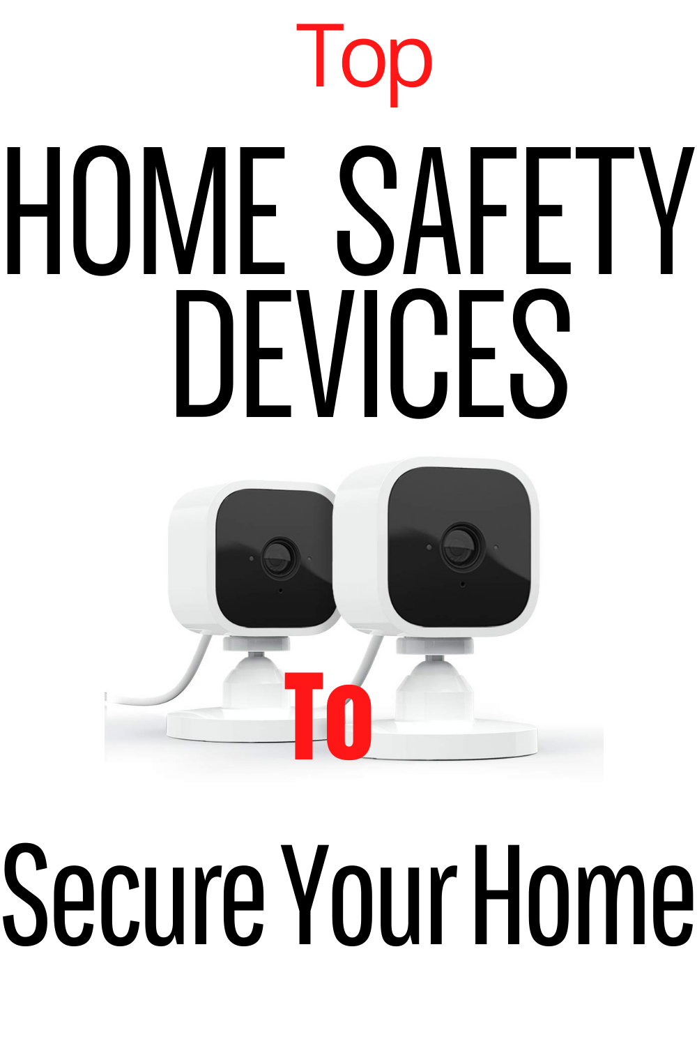 Home Safety Devices to keep you and your family safe, security cameras should not be limited so you can choose indoor or outdoor security cameras or even motion detecting safe cameras.